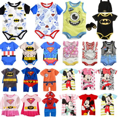 newborn baby boy girl disney marvel cute