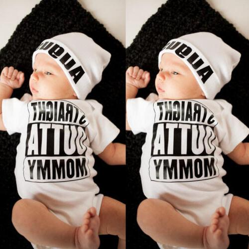 Newborn Straight Romper Playsuit Outfits