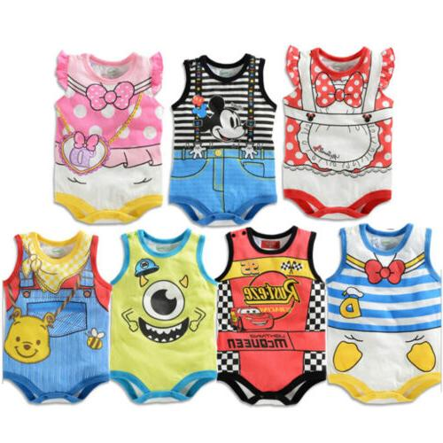 Newborn Baby Girls Marvel Hero Jumpsuit