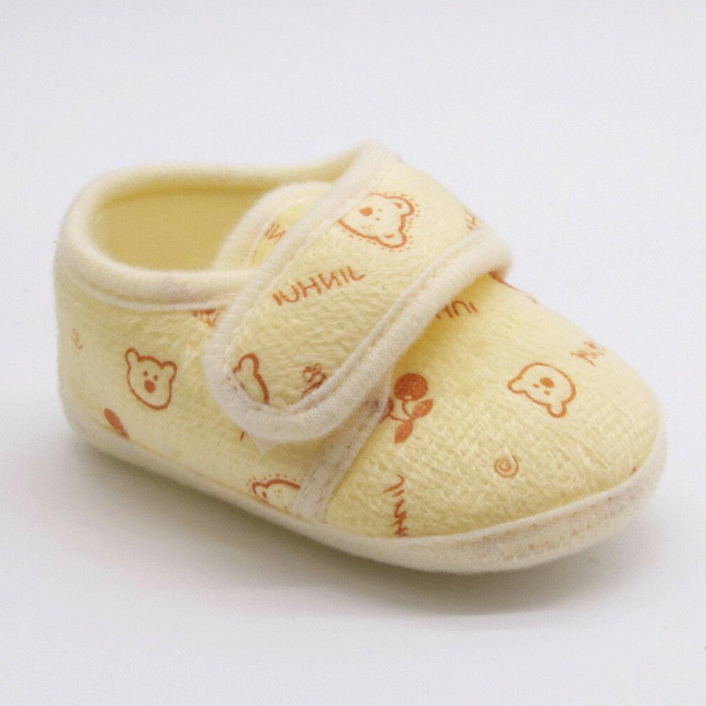 Toddler Infant Baby Girls Boys Sole Shoes