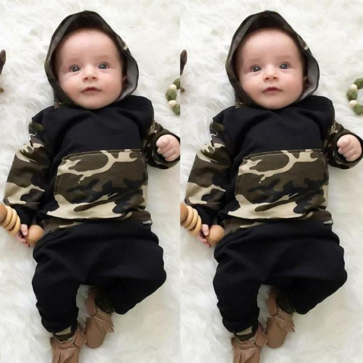 newborn toddler infant baby boy clothes hooded