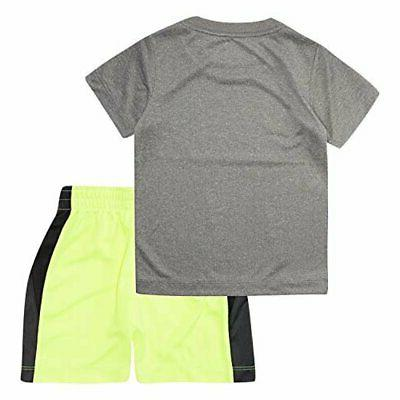 NIKE Little T-Shirt and Shorts 2-Piece