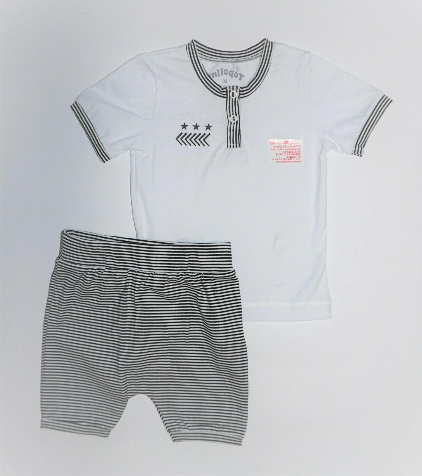 NWT, 2 and shorts,95% Cotton, Lycra