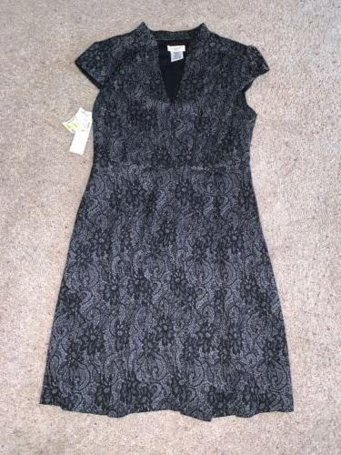 nwt new womens steinmart gray and black
