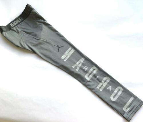 nwt nike full length gray compression tights