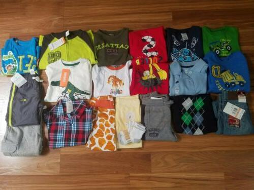 nwt toddler boys fall winter clothes lot