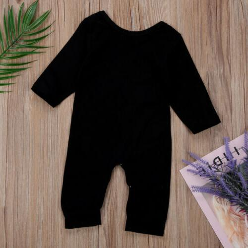One Unisex Romper Jumpsuit Clothes Girl USA