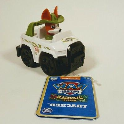 paw patrol rescue racers jungle rescue tracker