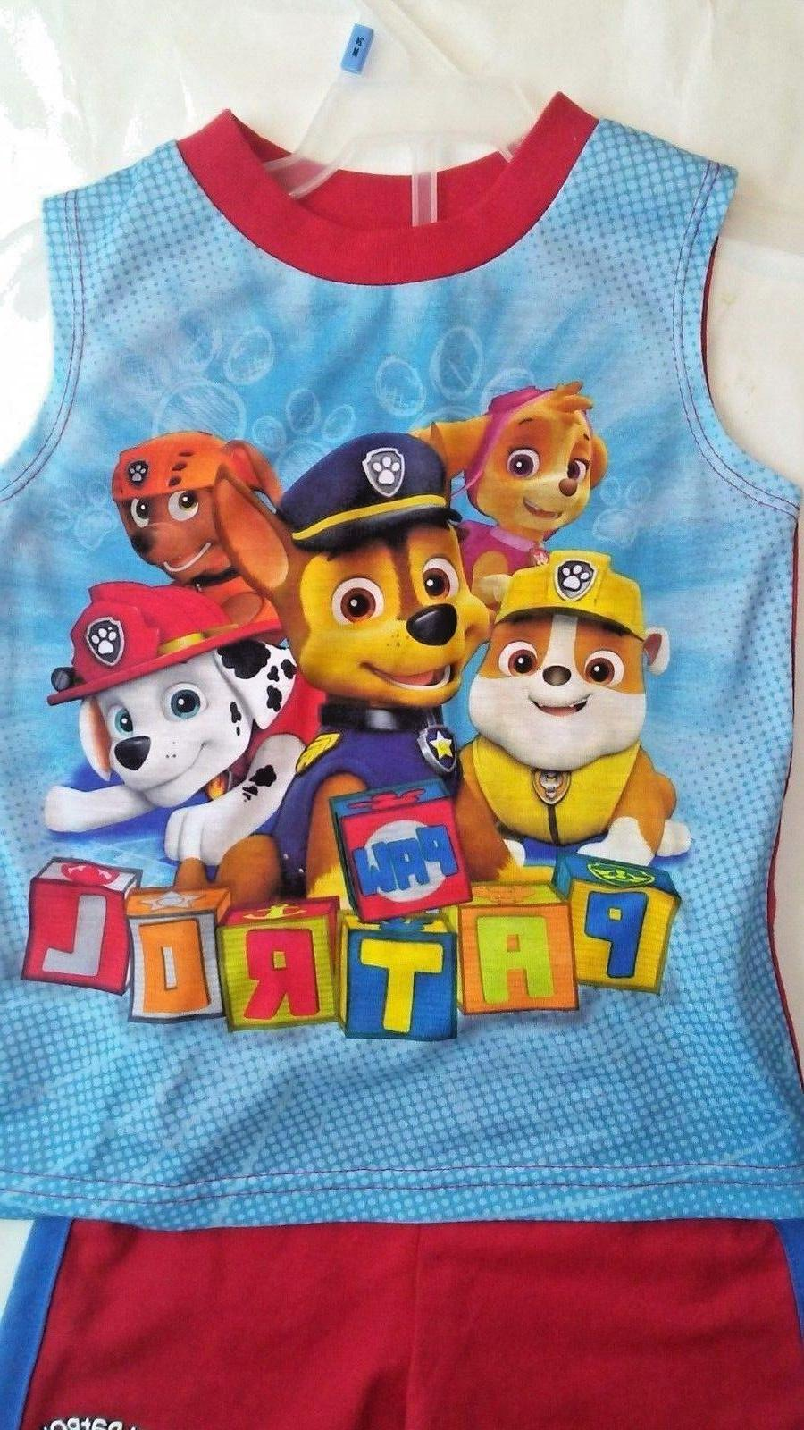 Paw Patrol Toddler Graphic Tank and 24