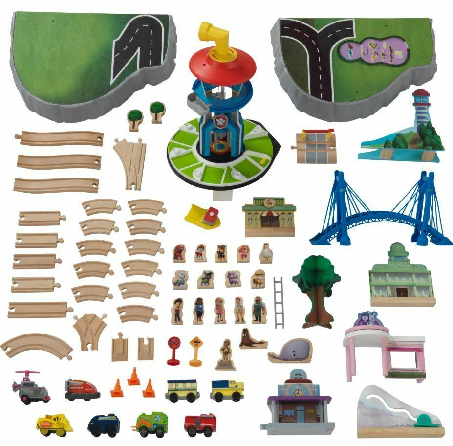Toddler Patrol Toy Vehicles Train Set