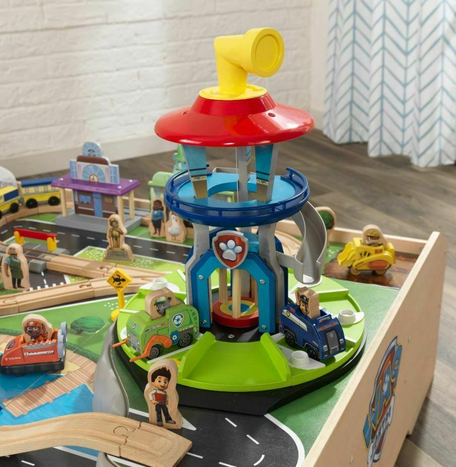Play Toddler Paw Patrol Toy Town Train Set