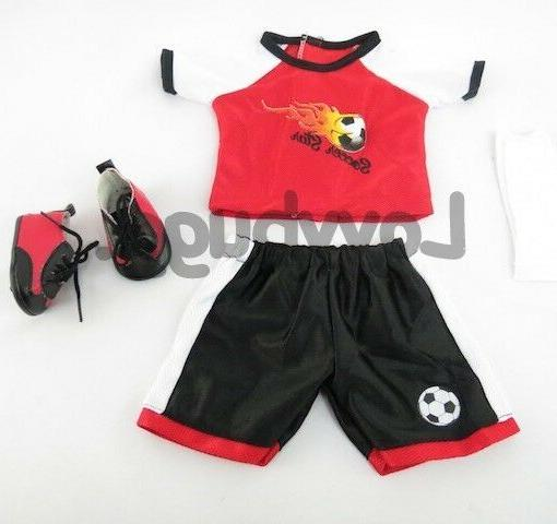 Red Flame Soccer w Girl/Boy Doll LOVVBUGG
