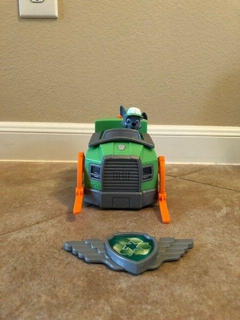 rocky s recycling truck vehicle and figure