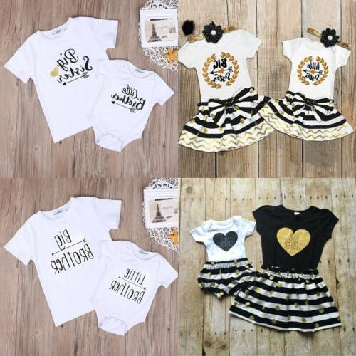 Baby Boys Girls T-shirt Outfits Set