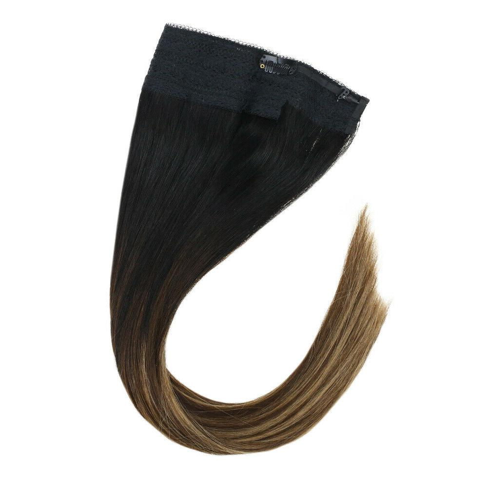 Sunny Halo Hair Extension Wire Balayage Color