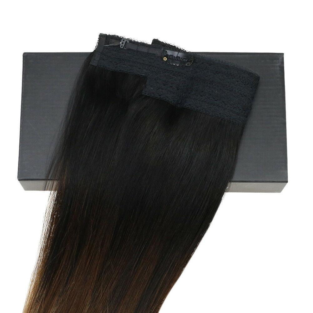 Sunny Halo Extension Remy Wire Color #1b/4/27