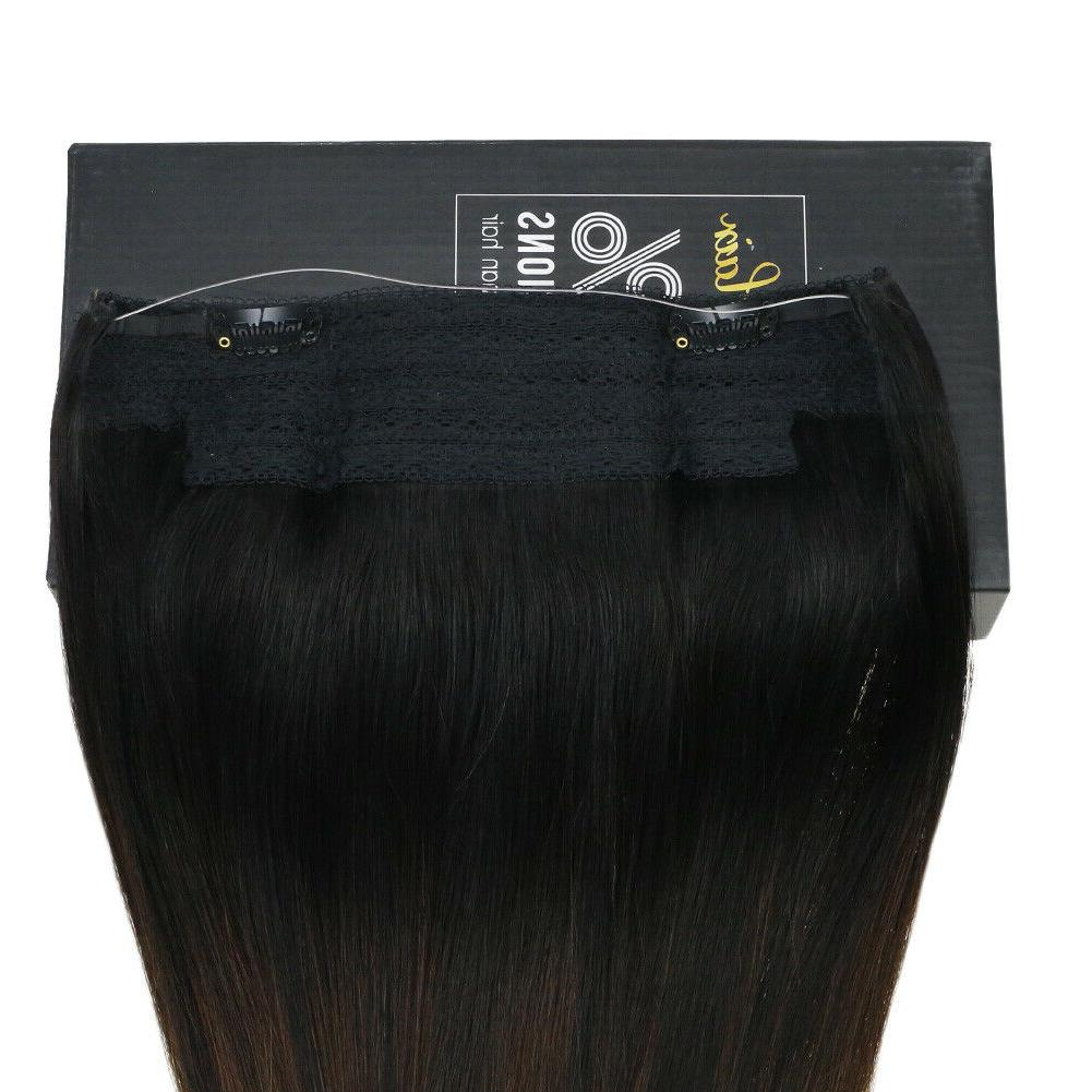 Sunny Extension Remy Human Invisible Wire Color