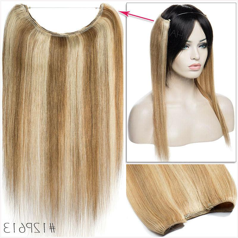 THICK 100% Human Invisible Weft Extensions