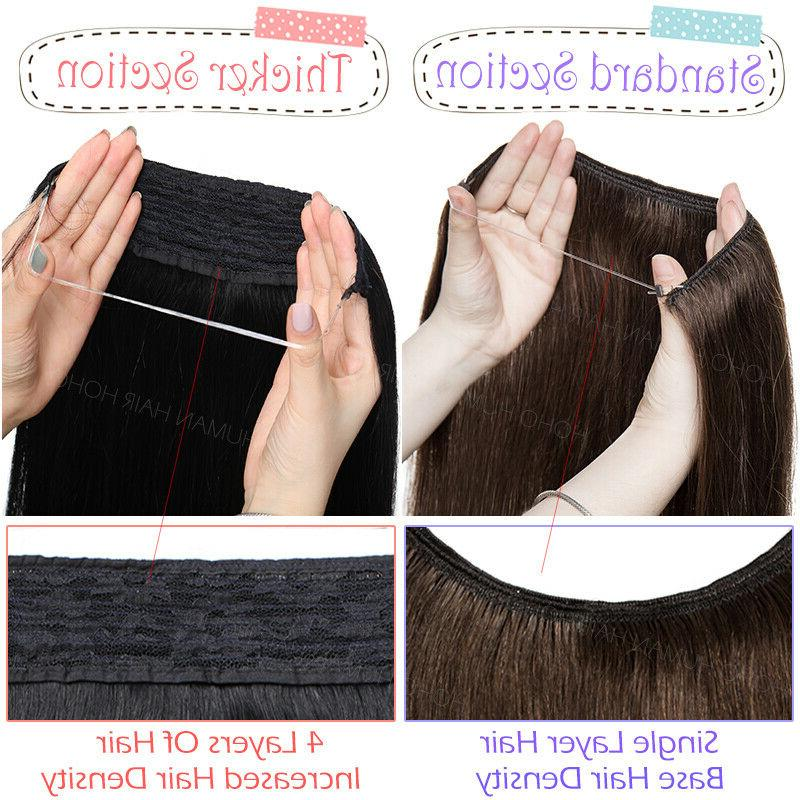 THICK Hair Invisible Extensions