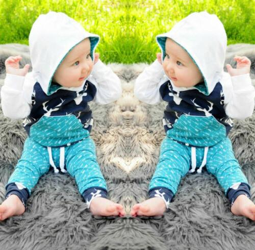 Toddler Tops Home Outfits Set