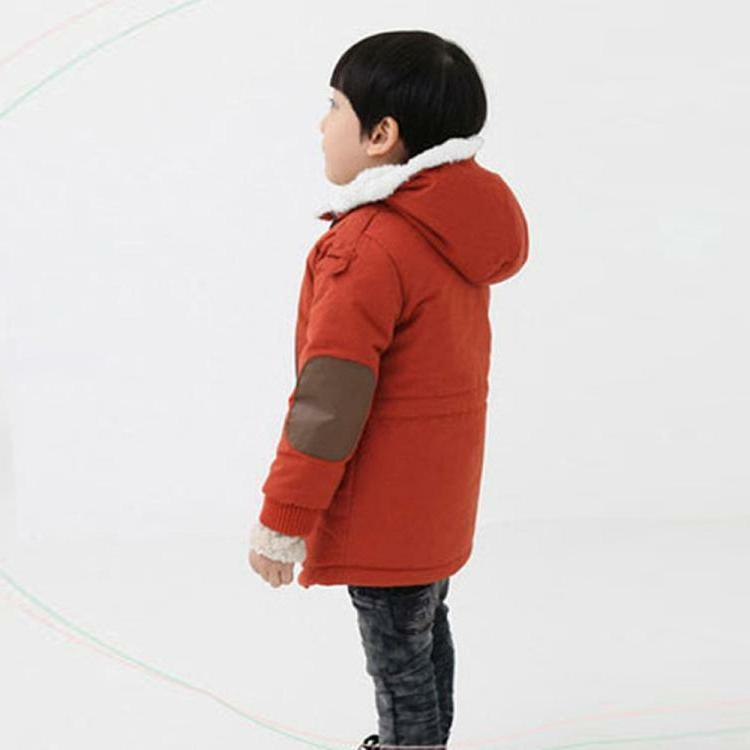 Toddler Winter Outerwear Fur Hooded Coat Clothing
