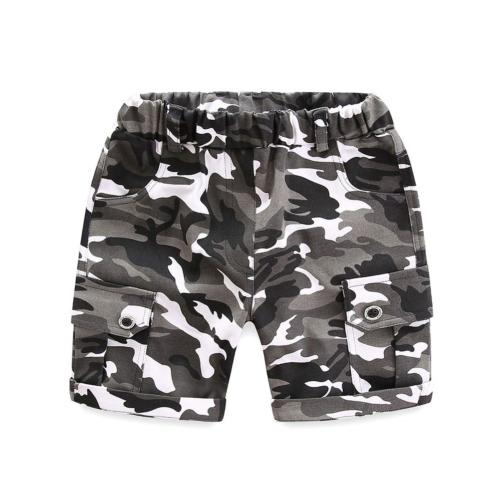LittleSpring Clothes Camo Shorts 4T