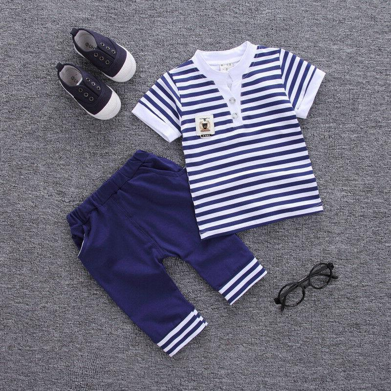 DIIMUU Baby Boy Clothes Kids Boys Clothing Suits Outfits Set