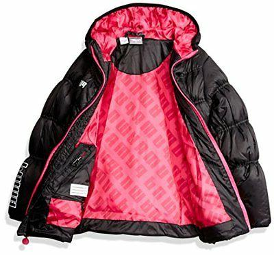 PUMA Girls Quilted Puffer Jacket