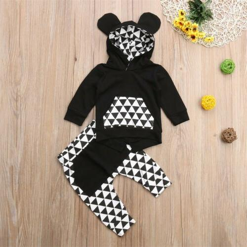 US Toddler Baby Clothes Hoodie