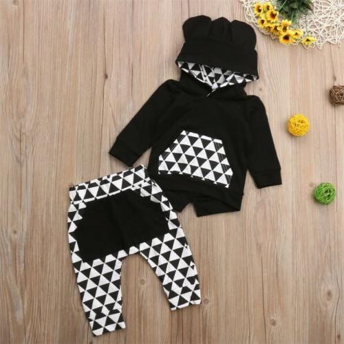 US Toddler Baby Boy Clothes Hoodie