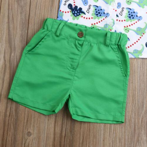 US Baby Boys Clothes Shorts Gentleman Outfits