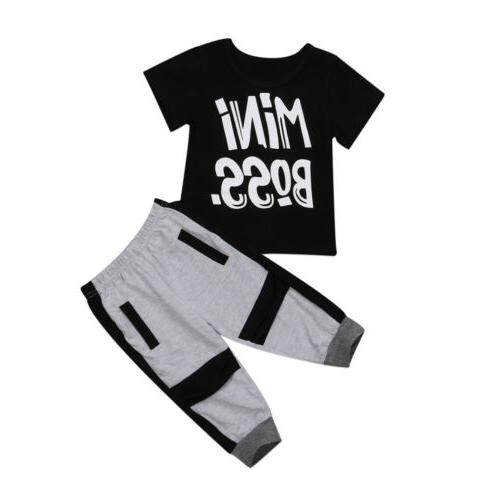 Boy Harem Pants Set Clothes