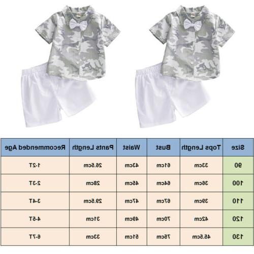 US Summer Boy Clothing Outfits Pants