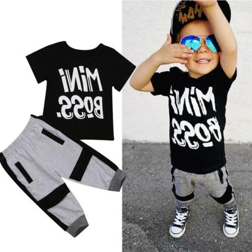 us toddler kids baby boy cotton t
