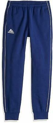 adidas Youth Unisex Soccer Core18 Sweat Pant, Ribbed cuffs f