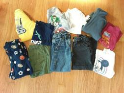 Large Mixed Lot Boys size 4T & 4 Clothing CARTERS, JUMPING B