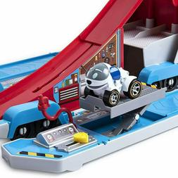 Paw Patrol,Paw Patroller, Transforming 2-in-1 Track Set for