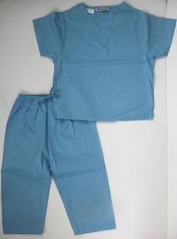 Scoots Little Boys' Blue Scrubs Outfit Sets Clothing Doctor