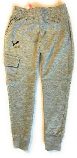 little boys french terry cargo jogger pants