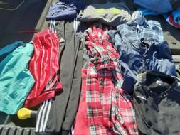 Lot of 10 youth, boys, kids clothes, size 8-10, 12  M, Preow