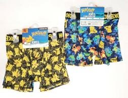 Lot of 2 POKEMON Boxer Briefs BOYS UNDERWEAR 4ps Set Total P