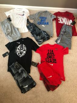 lot of boys nike clothes-size small 8-10