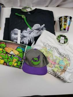 Lot of  Boys TMNT Clothing - TMNT Hat, 3 shirts and watch