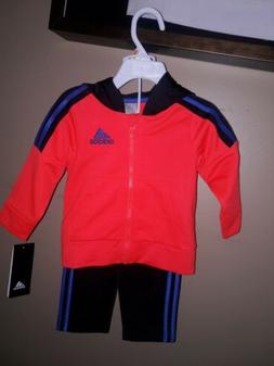 Adidas  Childrens Apparel AG5995 Baby Boys Zip Hoodie and Pa