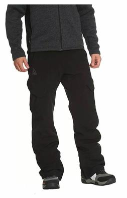 Gerry Men's Ski Snow Pant , 4-Way Stretch , Color: Black