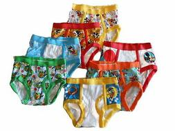 MICKEY MOUSE 7-pack Toddler Boys Briefs Sizes 2T/3T, 4T NEW