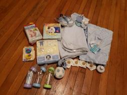 New Baby Boy Products lots - blankets, clothes, pads, and mo