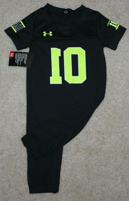 New! Boys Under Armour Football Jersey Coverall  Size 3-6, 6