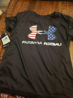 New Under Armour Little Boys USA Graphic Print T-Shirt SIZE