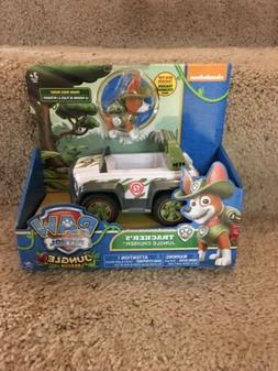 New Paw Patrol Tracker's Jungle Rescue Pup Cruiser Vehicle